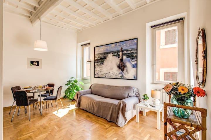 Bright Piazza Navona Apartment