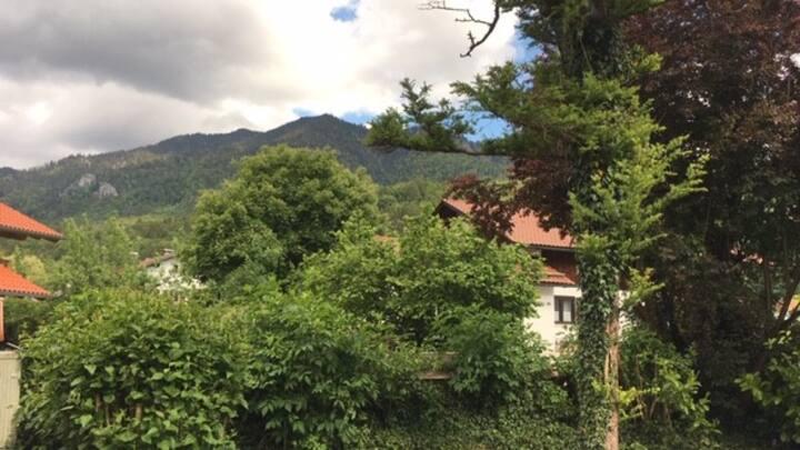 Zuhause mit Aussicht in Kochel am See/Doppelzimmer