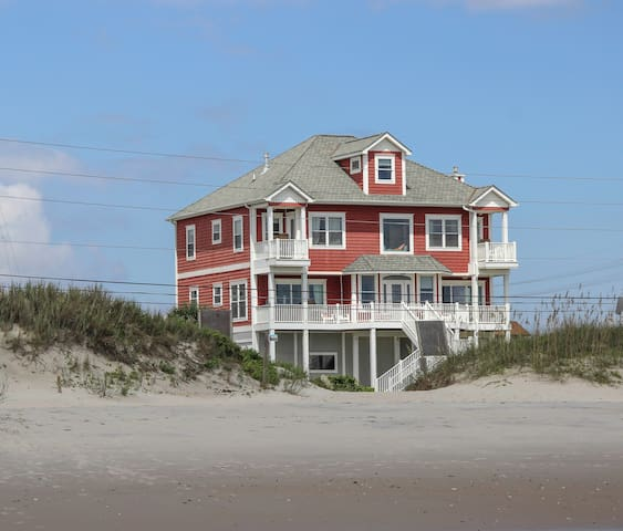 Best of Both Worlds-100 Bay Ct. - North Topsail Beach - Huis