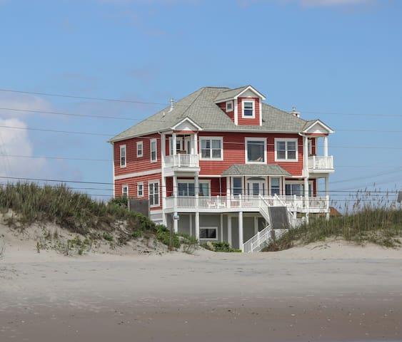 Best of Both Worlds-100 Bay Ct. - North Topsail Beach - Casa