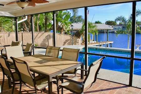 Waterfront Poolside Paradise