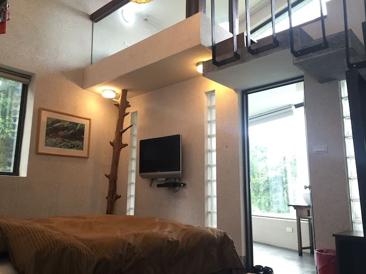 Alishan Long Yun Farm ~ Cloud View Loft Suite