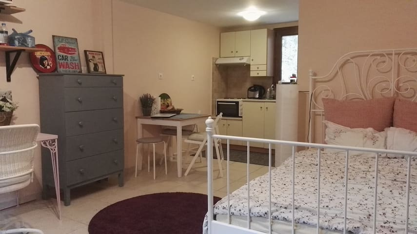 Amazing studio 10 minutes from the city center! - Saloniki - Apartament