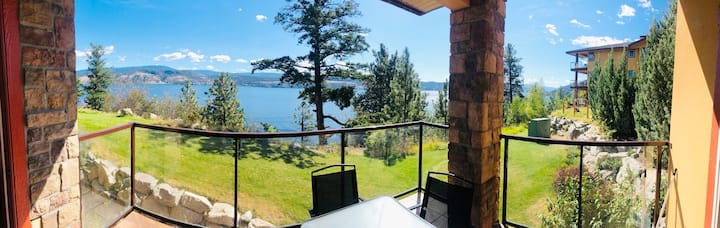 Lakefront Summer getaway, Okanagan Beach Resort.