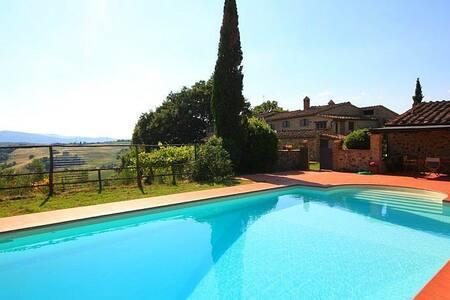 Luxury villa with private pool - Belforte - Rumah