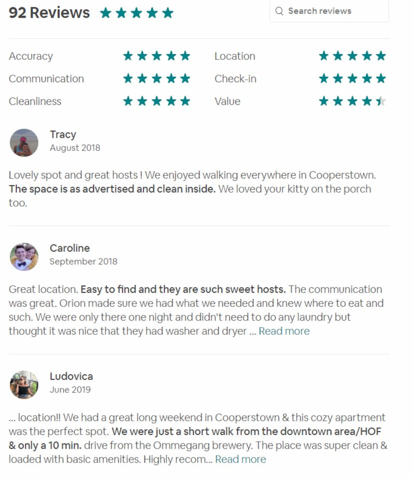 I had to make a new listing, but these are the reviews of the suite from over the years.