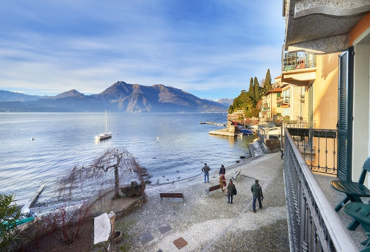 Casa Riva in Varenna on lakeshore