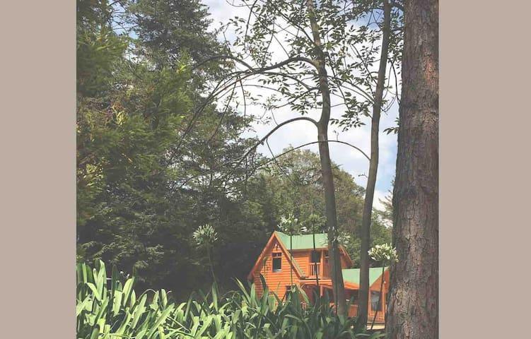 Hermosa Cabaña canadiense - CdMx / Toluca