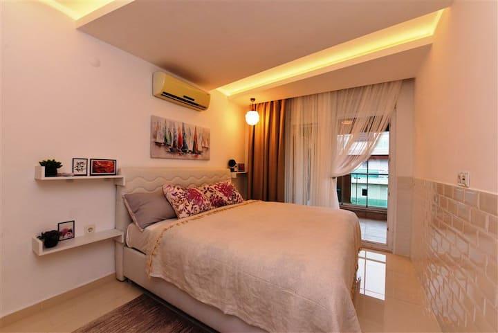 Best Home 20, beach Kleopatra, Alanya