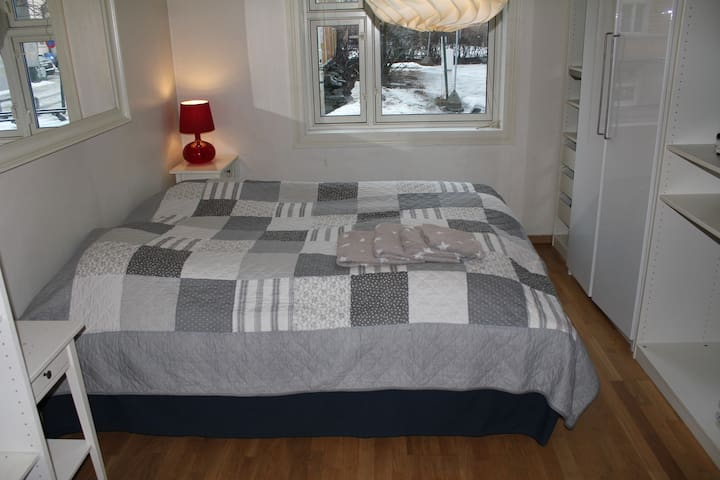 Trondheim centre king size bed - Trondheim - Appartement