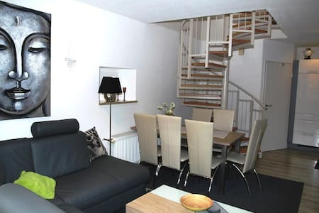 """Holiday home """"Adele"""" with the additional lockable sun terrace ** with new kitchen with Jura ENA 7 coffee-machine **"""
