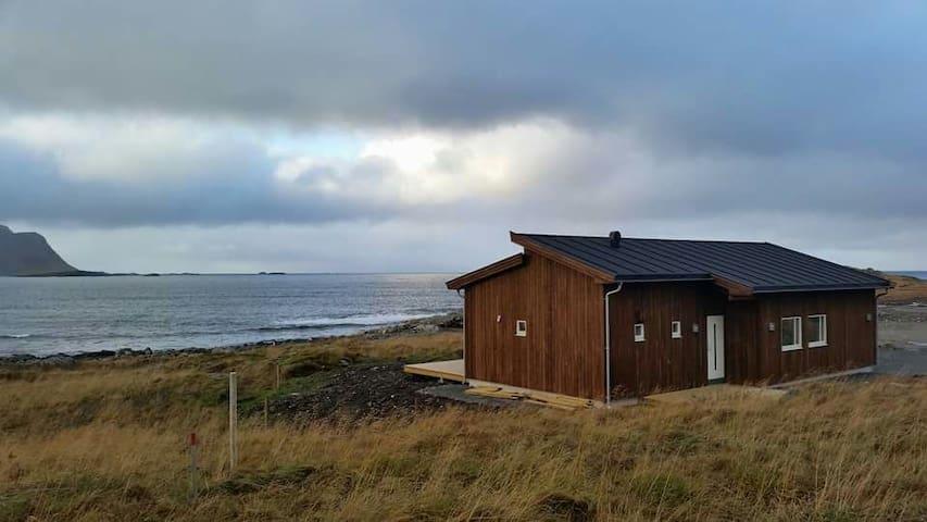 New cabin in beautiful surroundings - Lofoten, Ramberg - Hytte