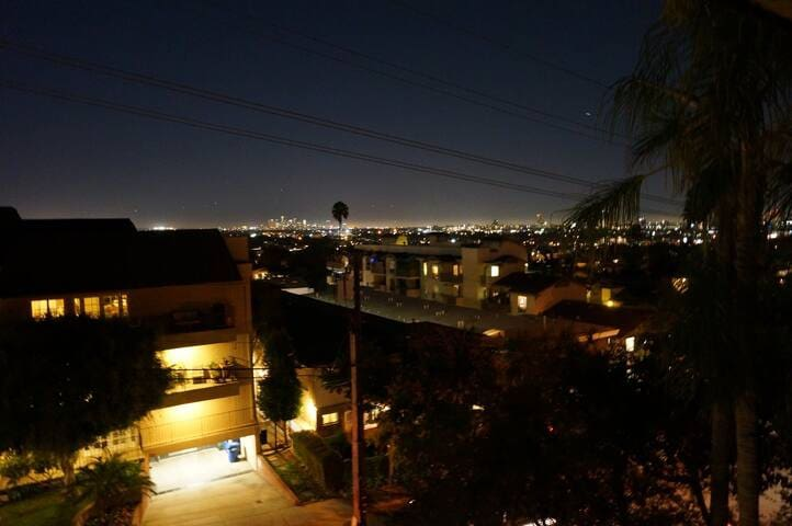 WeHo gem w/ sweeping city views + parking & pool!