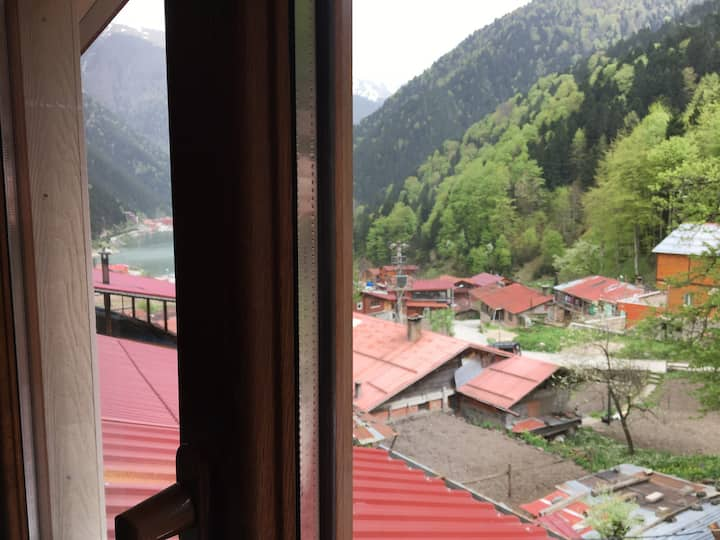 """""""Sefa apart"""" with a nice view over uzungol"""
