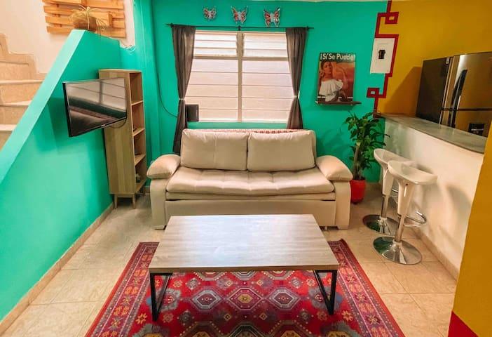 Entire Apartment • Medellin • Cozy MEXICAN Getaway