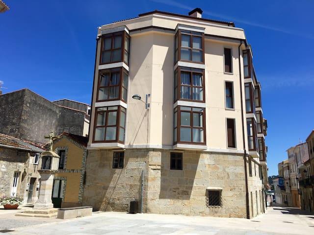 Apartamento lujoso y céntrico - Porto do Son