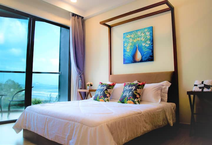 TimurBay Luxury 4Pax HightSpeed Internet [Seaview]