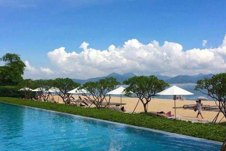 Seaside home海滨小径湾精装酒店式公寓 园景房双床 性价比高 - 惠州市 - Apartemen
