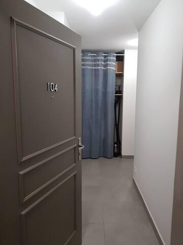 Appartement recent et calme