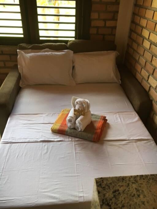 Sofá-cama casal