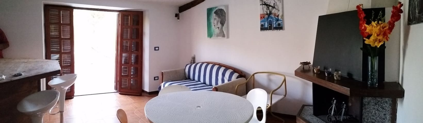 Beautiful flat with great terrace - Longobardi