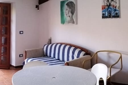 Beautiful flat with great terrace - Longobardi - Lejlighed