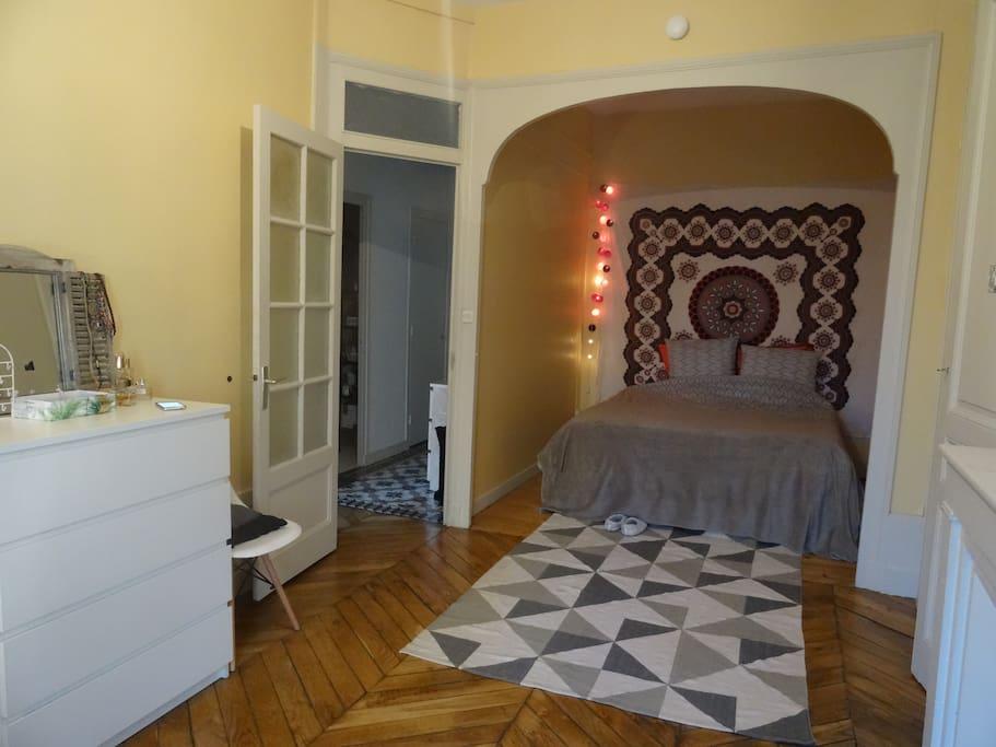 Chambre (lit : 160 x 200)