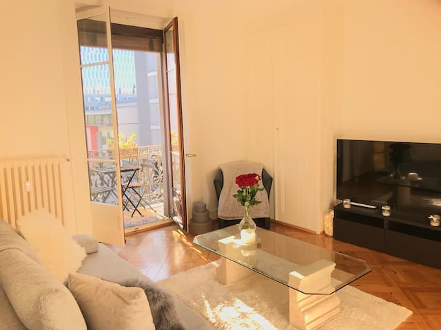 LOVELY 3 rooms flat in the heart of Geneva