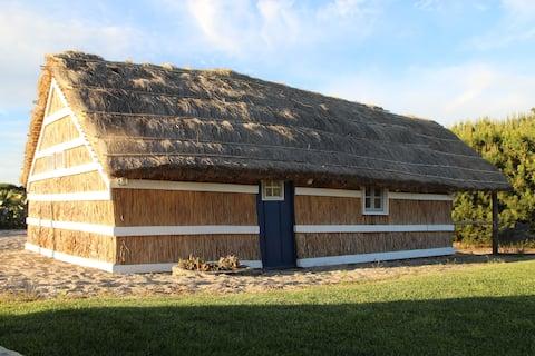 Cabana de Colmo (Tradycyjna kabina strzechą)
