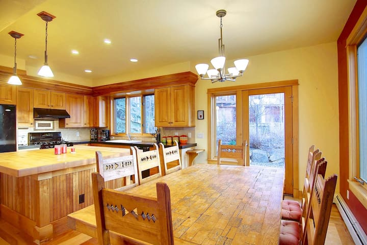 Stay in and Make A Meal - Large Dining Table, Seating for Eight