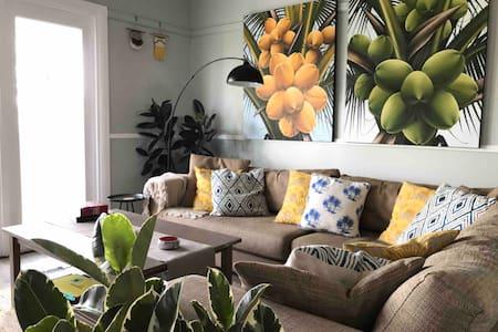 Coconut Cottage CLEAN, Free Netflix, Wifi, Pets ok