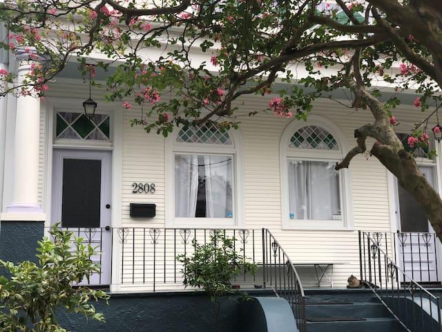 Lovely Bayou St. John apartment, walk to Voodoo!
