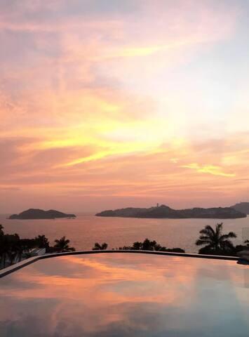 Casa en Acapulco Las Brisas Villa Mireya