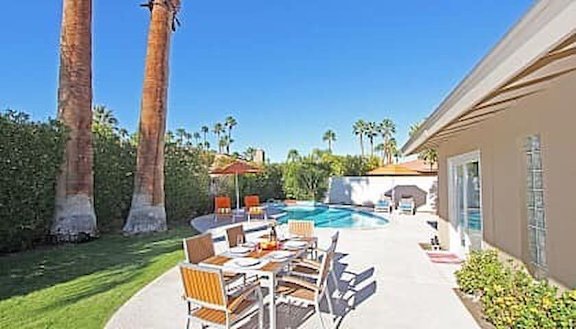 Beautiful Mid-Century Home in South Palm Springs