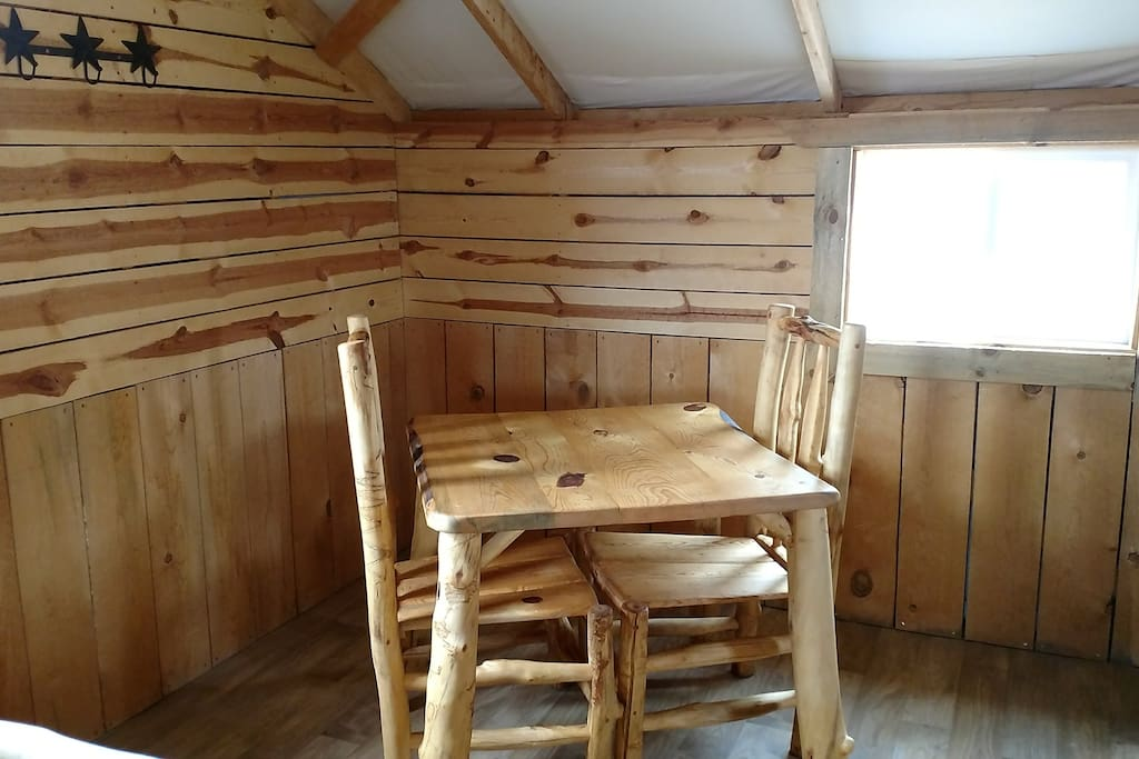 Log table for two