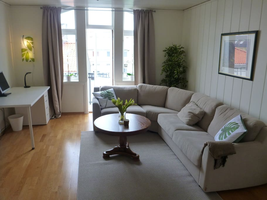 Supercozy and newly renovated penthouse appartment with small balcony