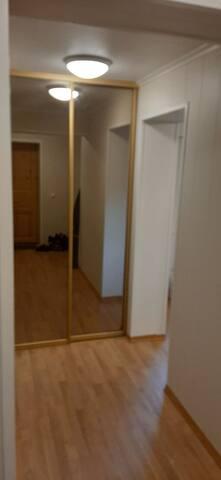 Sentrums leilighet i Stryn, 80 m2, med 2 soverom.