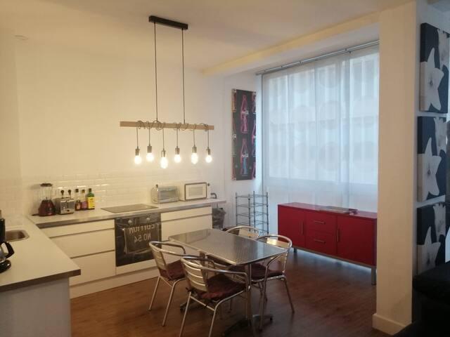Appartement en open space à deux pas du port