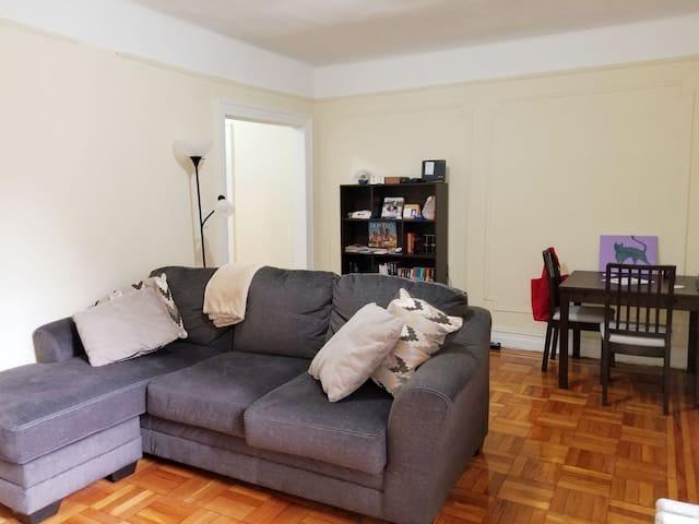 Large one bedroom apartment in Inwood, Manhattan!