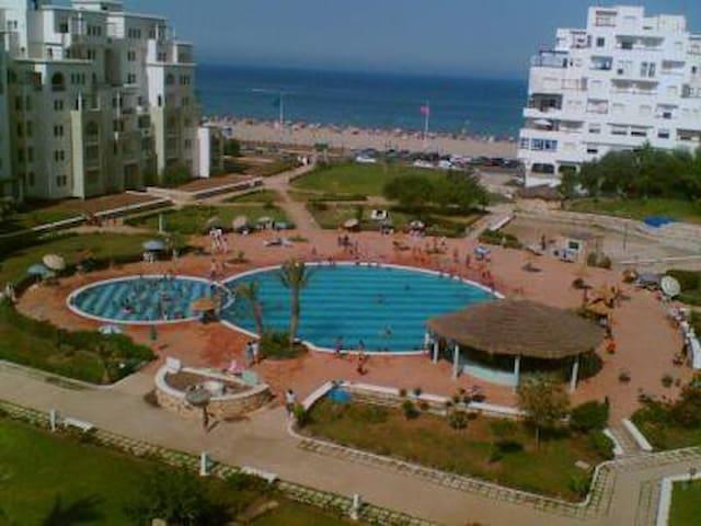 Joli appartement avec accès direct à la plage