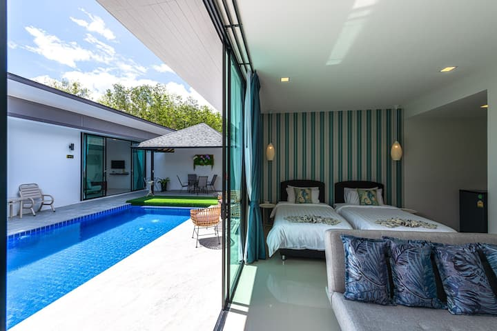 Lespalm taraburi pool villa