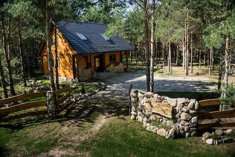 Moose Cottage - sebahagian daripada Hutan secara eksklusif