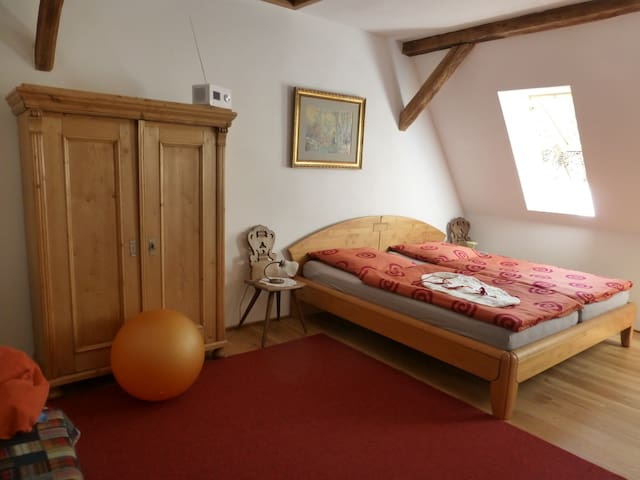 Stilvolle, helle Galeriewohnung im Wasgau - Erlenbach bei Dahn - Semesterboende