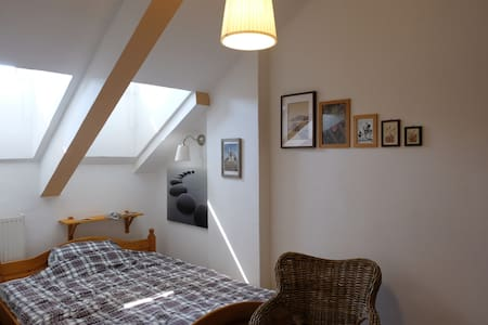 Lovely small attic apartment.