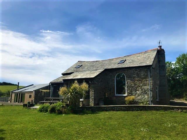 Charming Blacksmith's Smithy, Crackington Haven