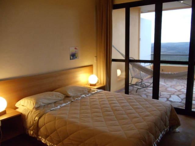 Bedroom of Alegria Apartment
