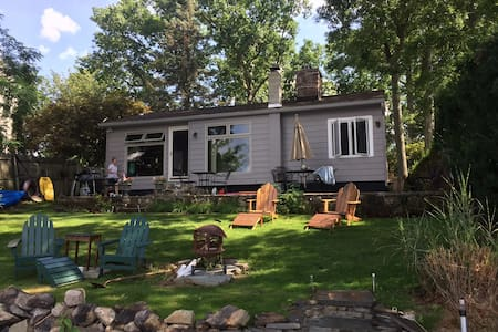 Lake Front retreat 1 hour from Midtown NYC - Wharton - Hus