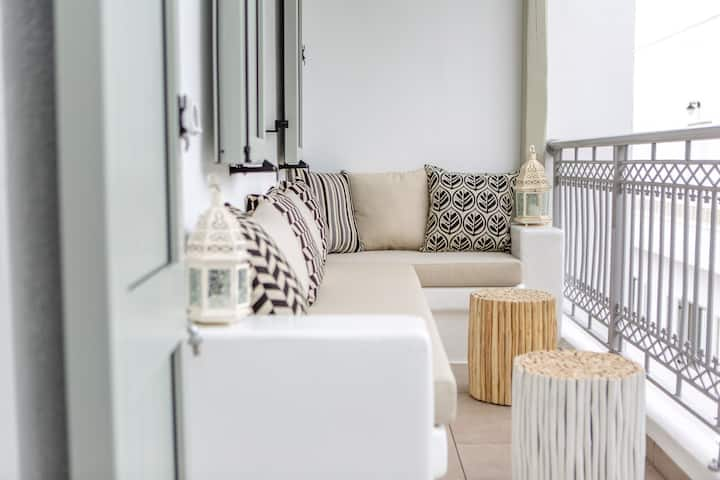 New - Cycladic Lifestyle Apartment Naxos Town