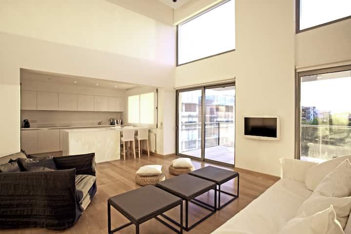 Contemporary Duplex Penthouse in Nicosia