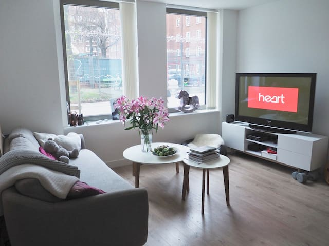 Double bedroom in 2 bed flat in Hackney - London - Apartment